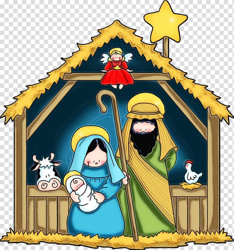 Christmas Decoration, Nativity Scene, Christmas Day.