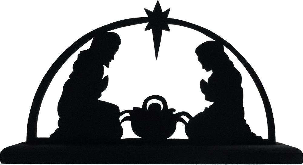 Silhouette Manger Scene at GetDrawings.com.