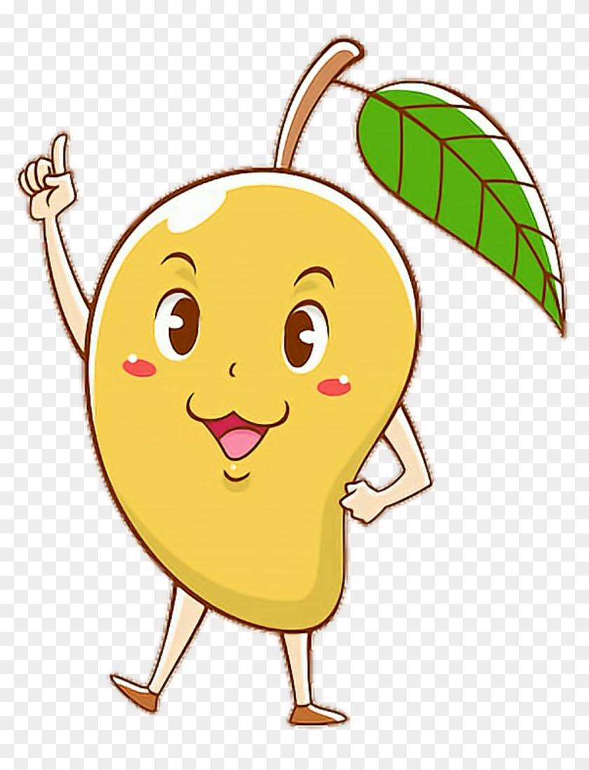 scmango #mango #cartoon #cute #colorful #pose #smart.