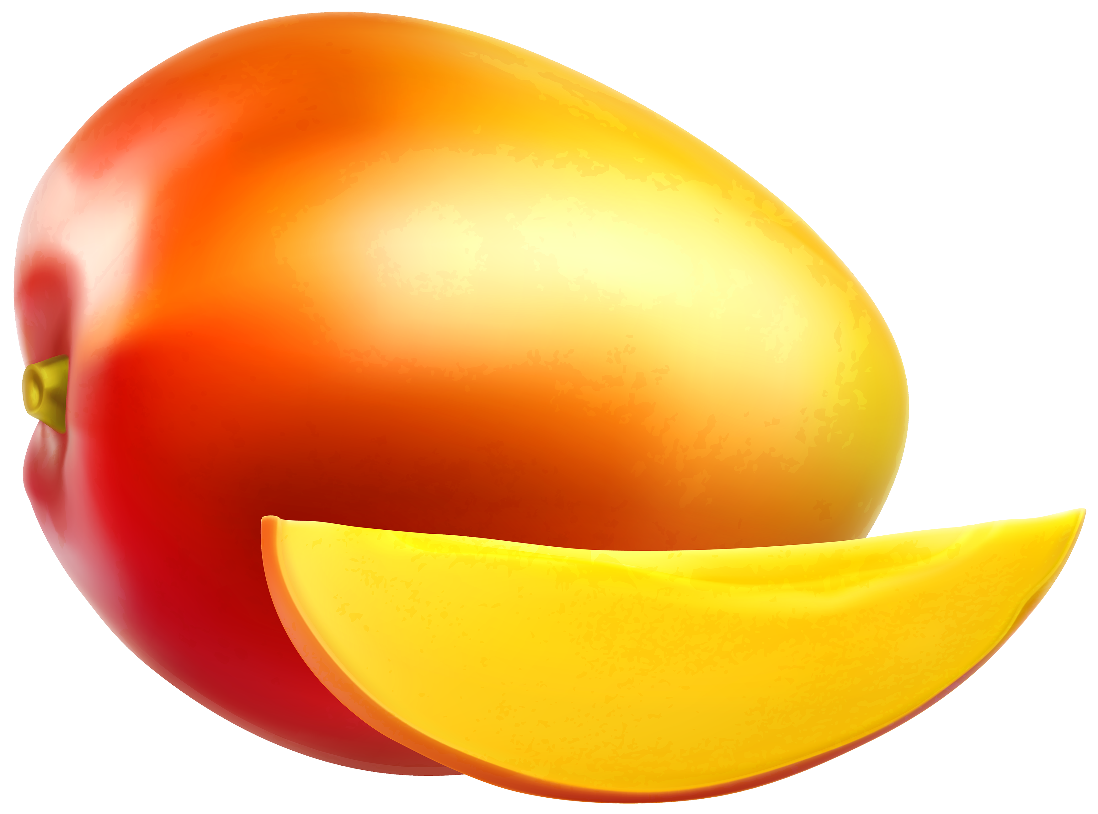 Clipart of mango.