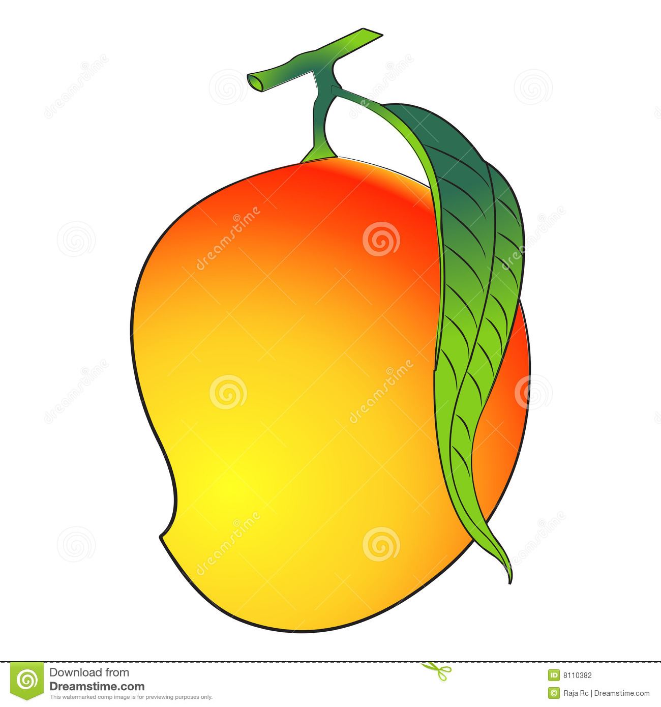 Mango Images Clip Art.