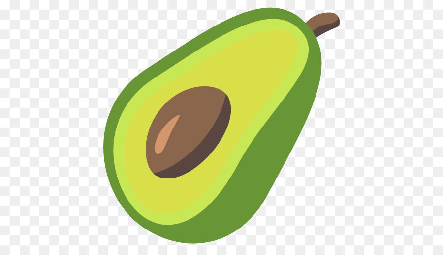 Avocado Emoji png download.