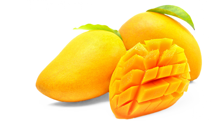Sliced Mango Pieces PNG Vector PNG (2).
