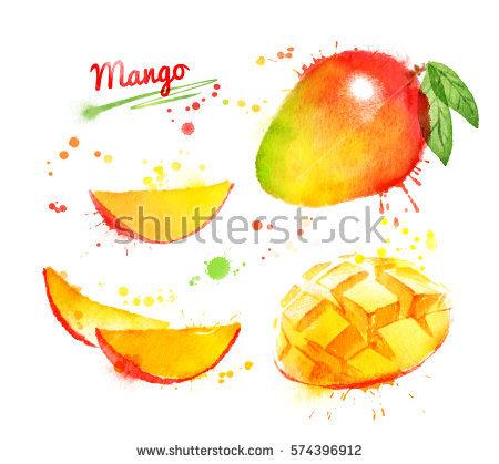 Mango Texture Stock Photos, Royalty.