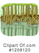 Mangrove Forest Clipart #1.