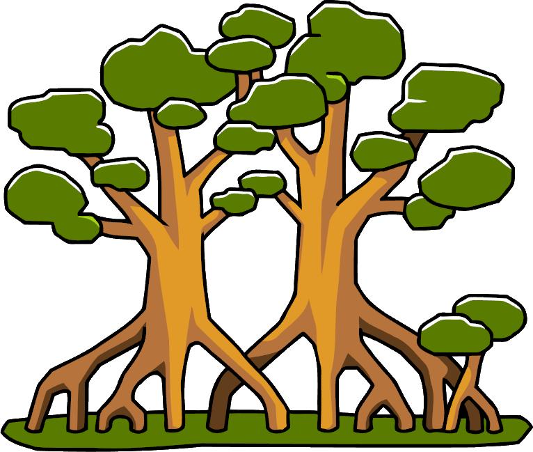 Swamp Tree Clip Art.