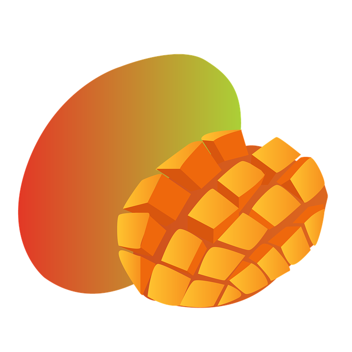 Free illustration: Mango, Fruit, Hood, Tropical.