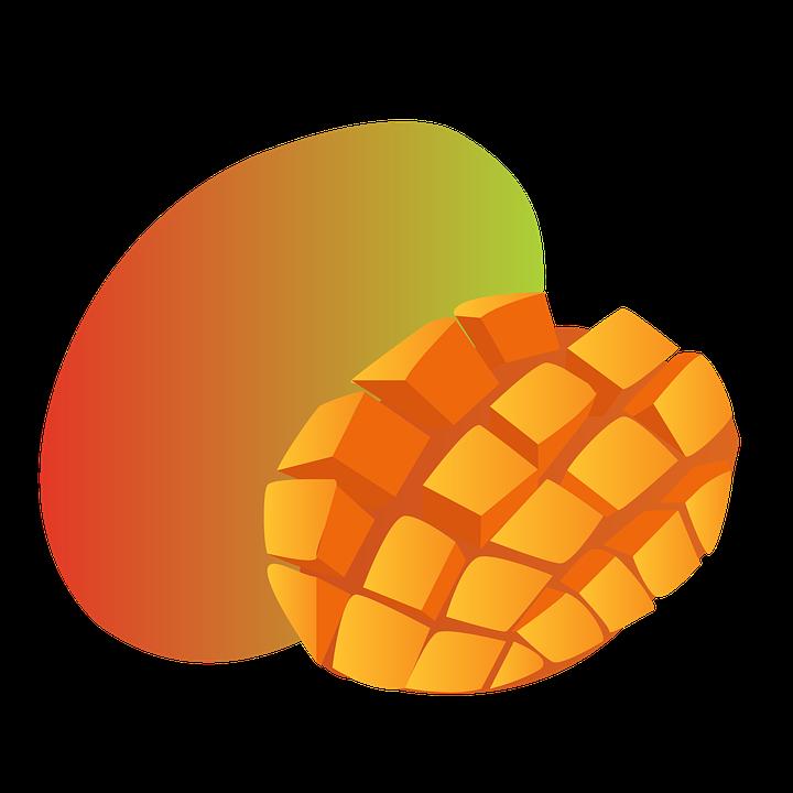 Free illustration: Mango, Fruit, Hood, Tropical.