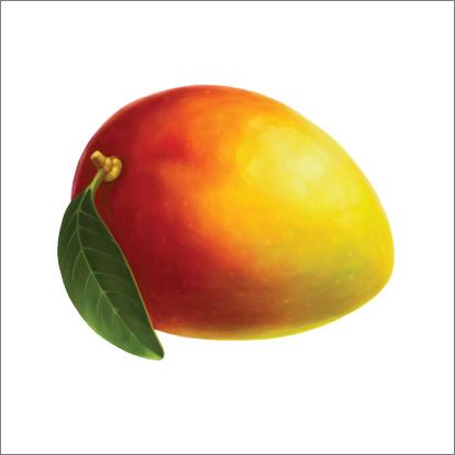 Mango Clip Art, Vector Images & Illustrations.