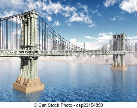 Manhattan bridge Illustrations and Clipart. 341 Manhattan bridge.