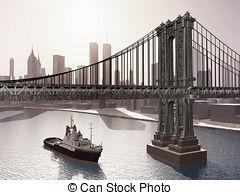 Manhattan bridge Illustrations and Clipart. 324 Manhattan bridge.