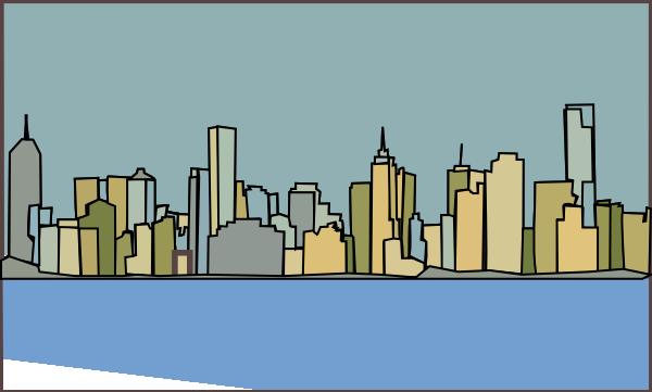 Manhattan clipart.