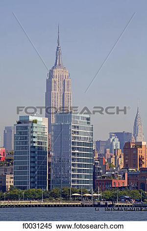 Stock Image of United States, New York, cruise around Manhattan.