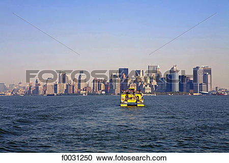 Stock Photography of United States, New York, cruise around.