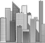 Manhattan, clipart Corel Xara.