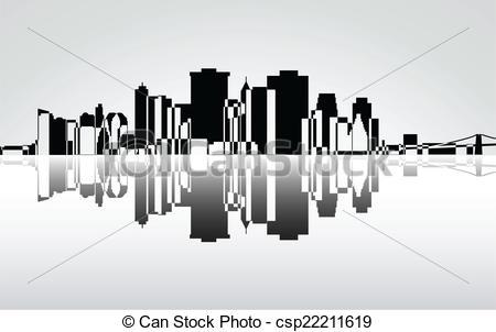 Vector Clip Art of New York.