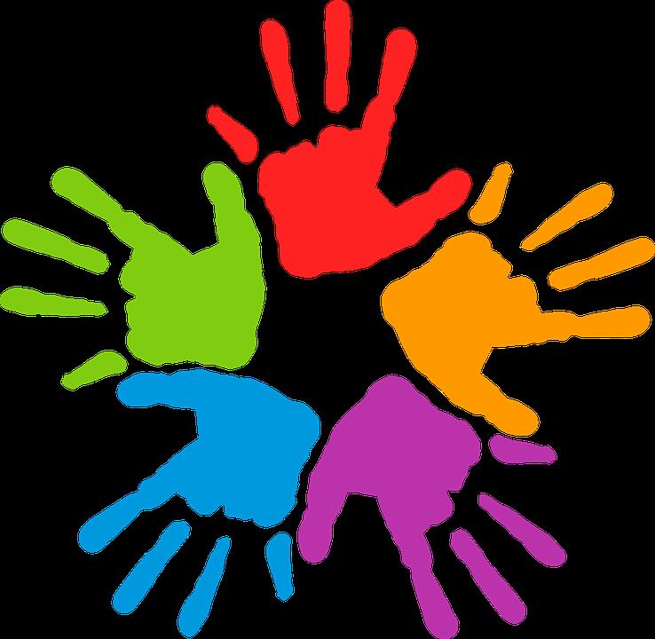 Free vector graphic: Common, Commune, Diversity, Hand.