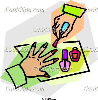 Manicure Clipart.