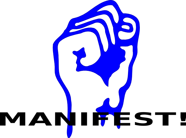 Solidarity Fist (manifest) Clip Art at Clker.com.