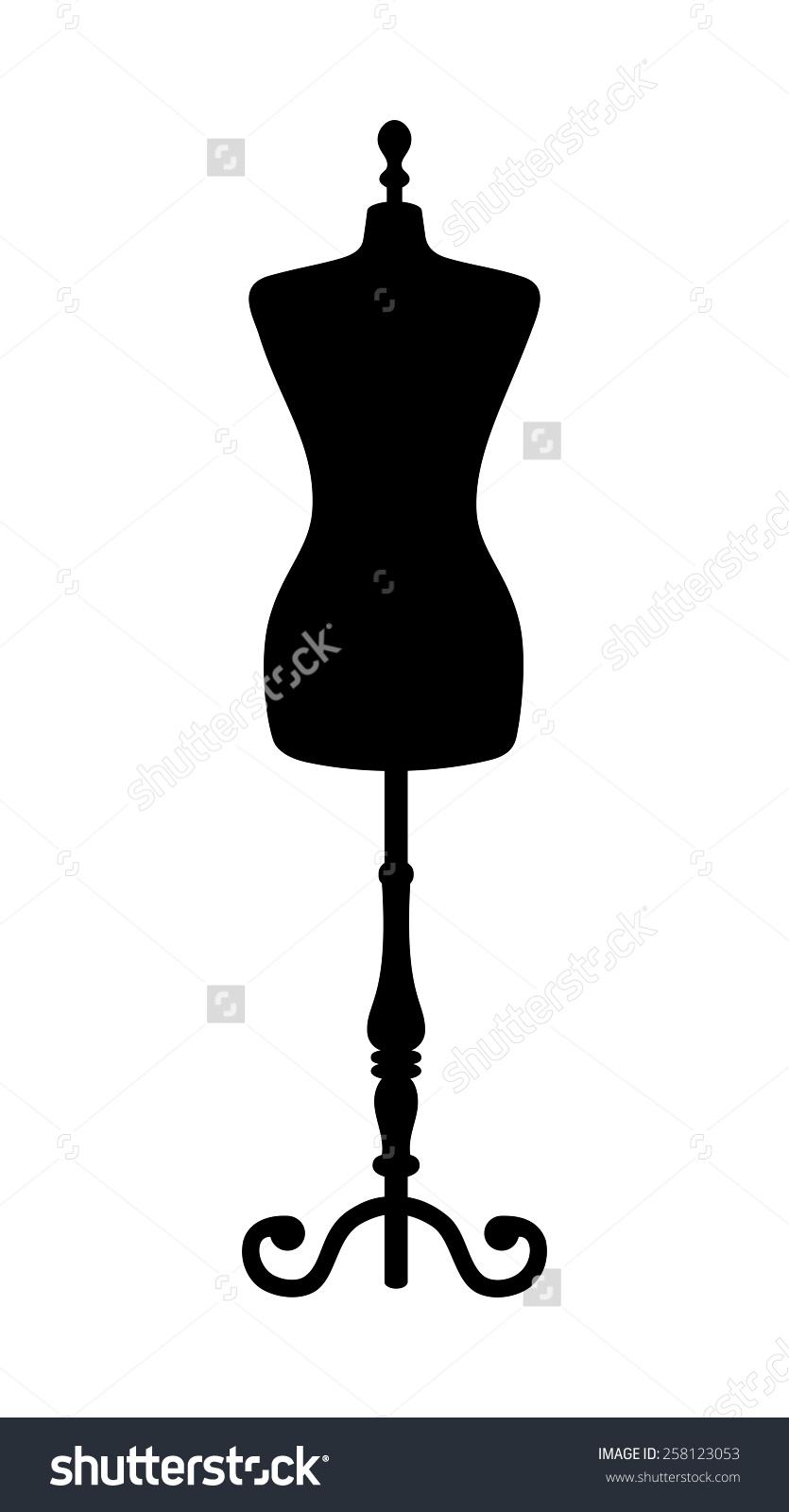 Female Mannequin Clip Art.