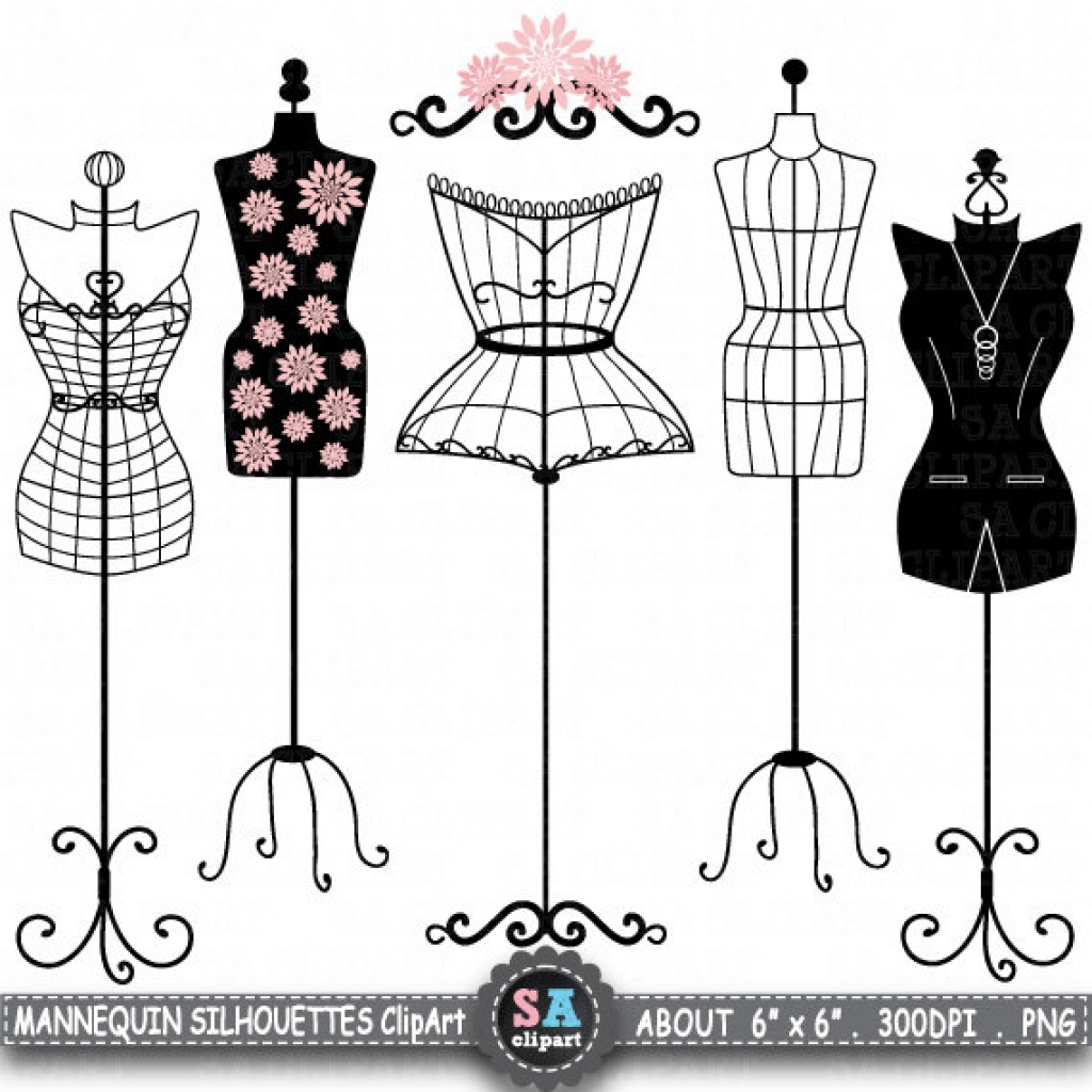 popular items for mannequin clip art on etsy inside fashion.