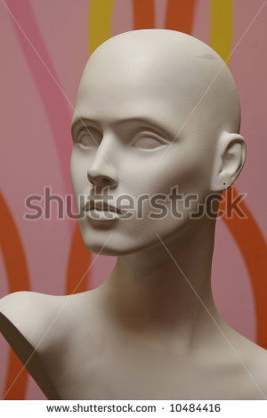 Mannequin Face Stock Photos, Royalty.