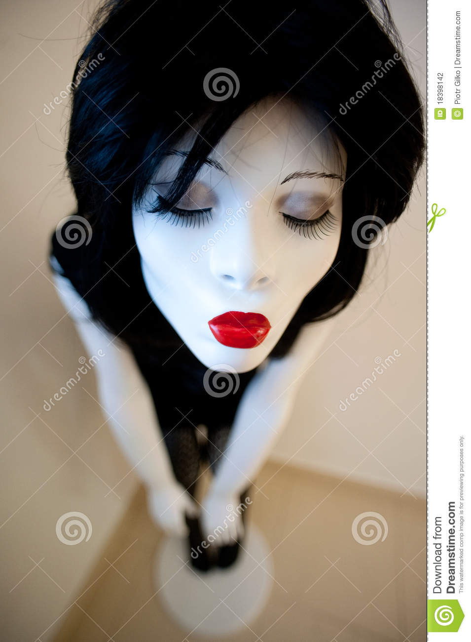 Manikin Head And Face Stock Photography.