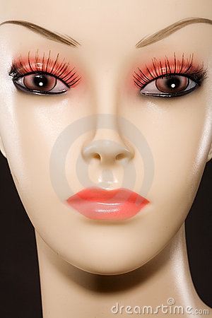 Mannequin Face Stock Image.