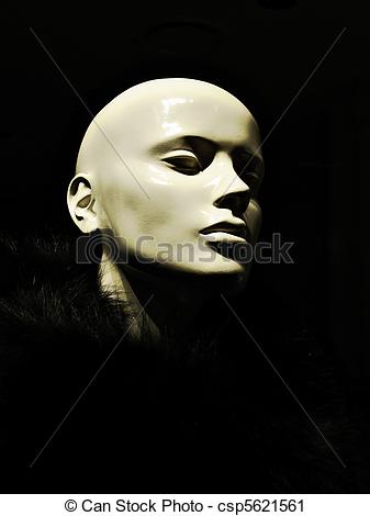 Stock Photography of mannequin.