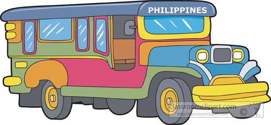 Asia : jeepney.