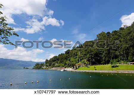 Picture of Maninjau Lake, West Sumatera x10747797.