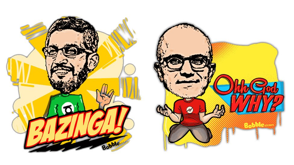 The Tale Of Two Indian Silicon Valley Kings Pichai and Nadella.