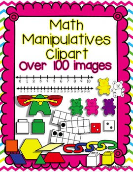 Math Manipulatives Clipart.