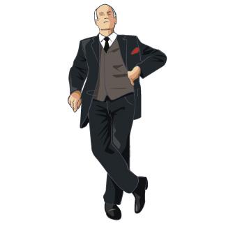 Standing Man Clipart.