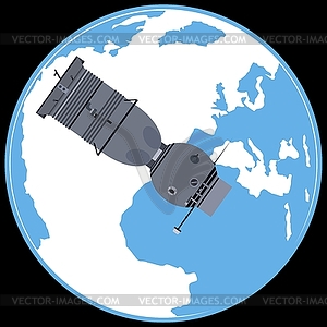 Manned spacecraft «Soyuz 7K».
