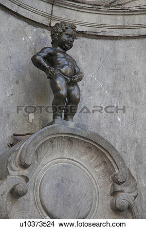Stock Photo of Manneken Pis u10373524.