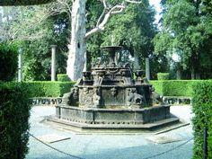 Remarkable topiary at Villa Lante.