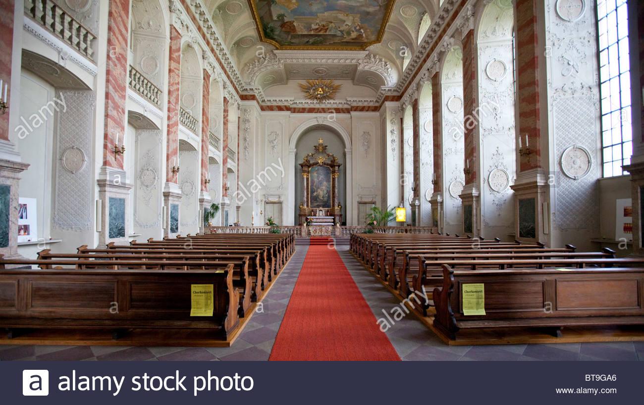 Schlosskirche, Palace Church, Former Court Chapel In Mannheim.