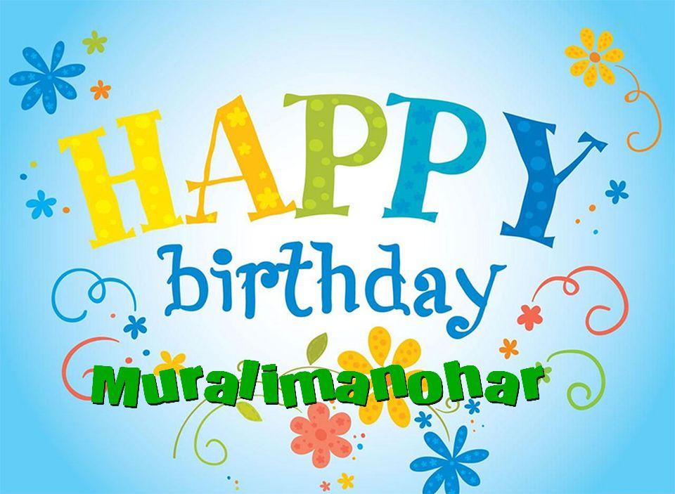 Murali name clipart.