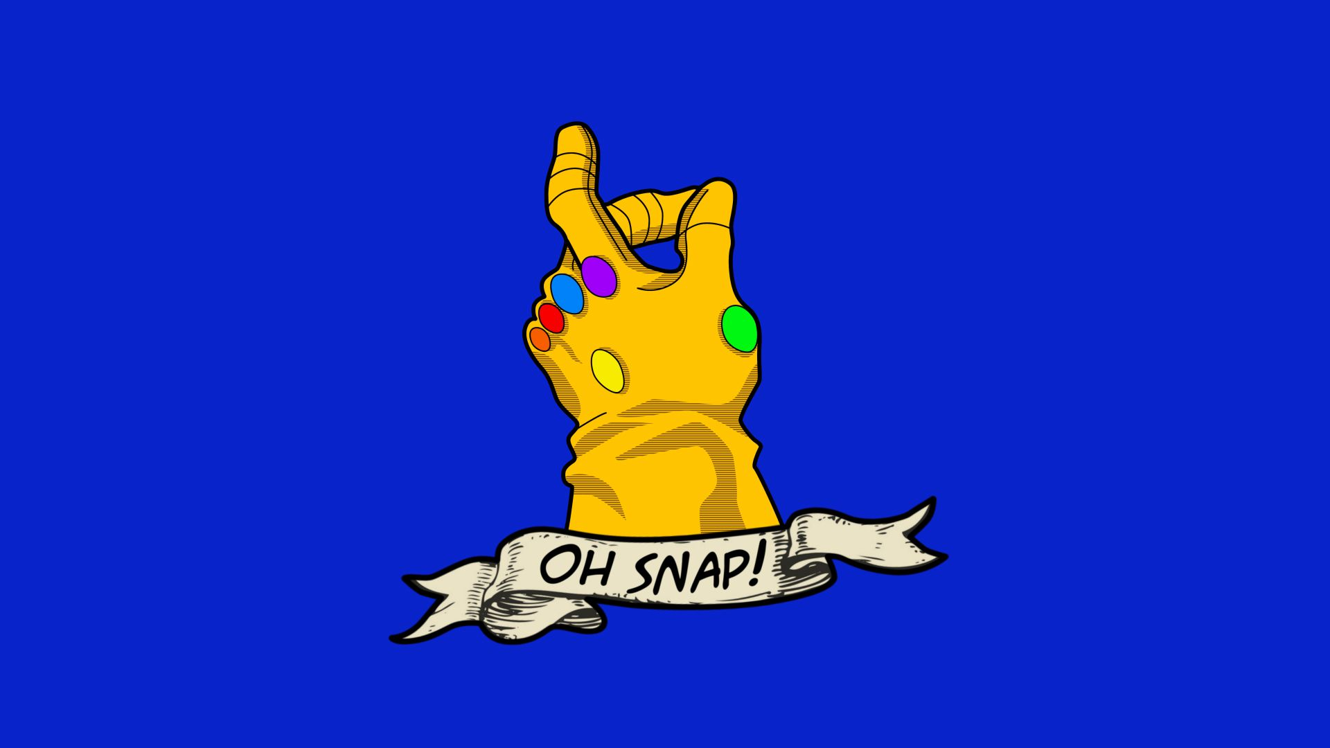 Thanos Snap Wallpapers.