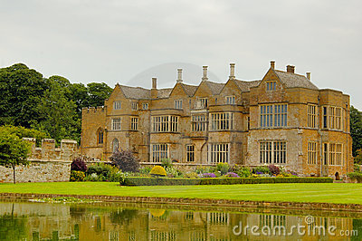 Medieval Manor House Stock Image.