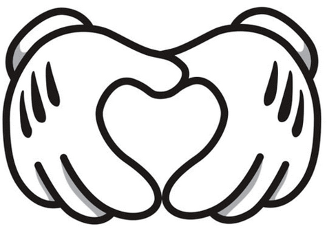 Disney #heart #hand image. OWuls love to put a photo in the.