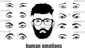 Man Eyes Clipart.