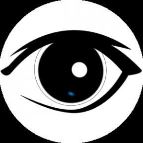 Eye Outline Clipart Man.
