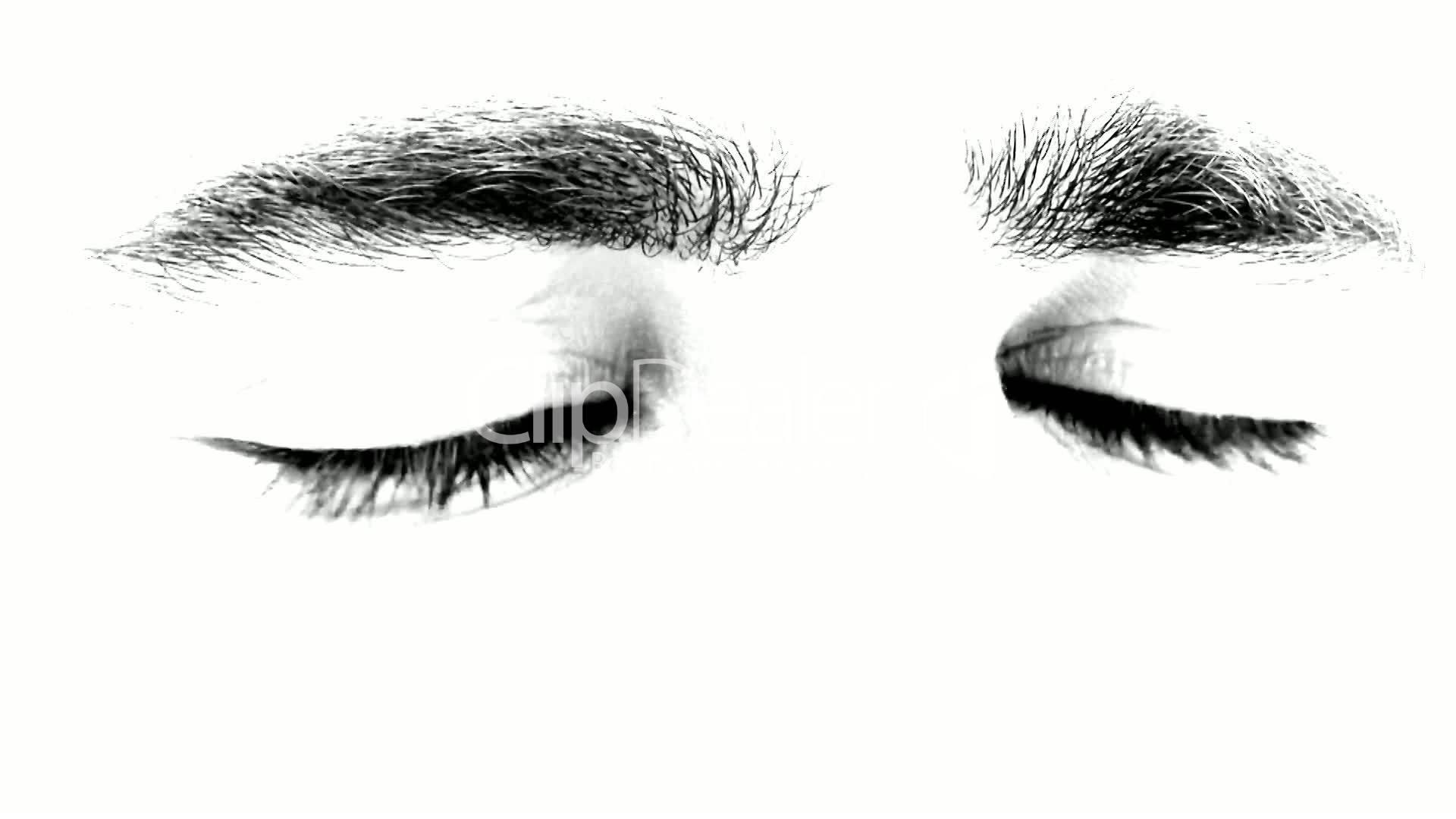 Blinking Eyes Clip Art.