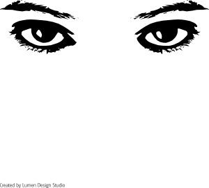 Man Eyes Clipart Black And White.