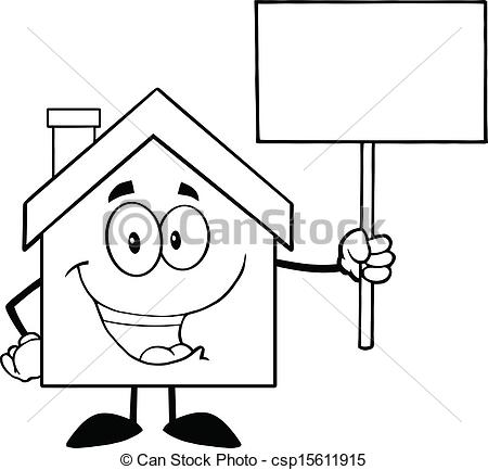 Mansion Clipart Black And White.