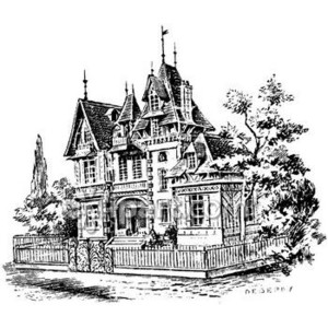 mansion clipart   Clipart Free Download.