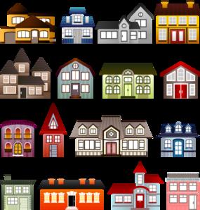 Mansions Clip Art.