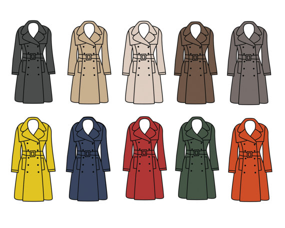 Clip Art Women's Clothing Clipart.